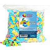 Candy Blox Build and Eat Blocks, 3 LB Bulk Candy