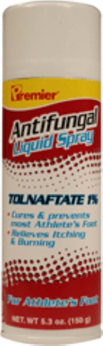 Premier Tolnaftate Antifungal Athlete's Foot Liquid Spray 5.3 oz (Pack of 5)