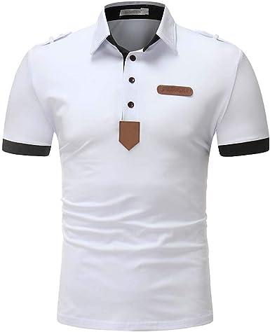 Polo De Manga Corta para Hombre Camiseta De Mode De Marca Verano ...