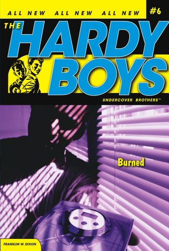 burned-hardy-boys-all-new-undercover-brothers-book-6