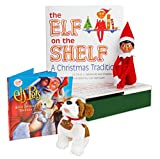 The Elf on the Shelf: A Christmas Tradition - Brown Eyed North Pole Elf Boy with Elf Pets: A Saint Bernard Tradition