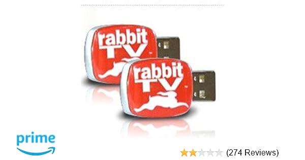 Rabbit 88715 TV USB Entertainment System (2 Pack)