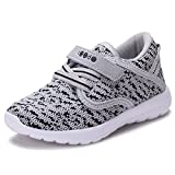COODO CD3001Toddler's Lightweight Sneakers uni-sex Kid's Cute Casual Sport Shoes GREY-7
