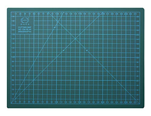 DAFA Professional 24″ x 18″ Self-Healing, Double-Sided Cutting Mat, Rotary Blade Compatible, (36×24), (24×18), (18×12), (12×9) Sizes, for Sewing, Quilting, Arts & Crafts