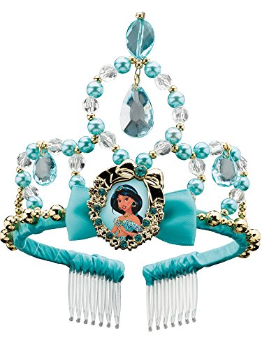 Jasmine Classic Disney Princess Aladdin Tiara, One Size Child ()