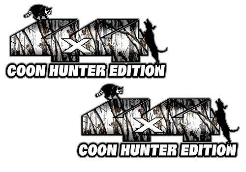 4x4 coon hunter edition snow camo 7