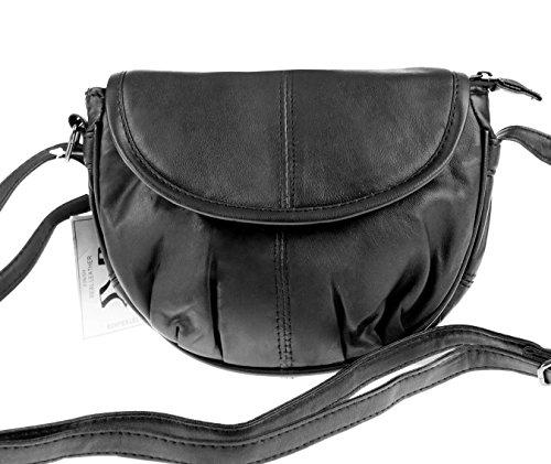 Bag Street kleine XS Nappa Leder Schultertasche Umhängetasche Tasche