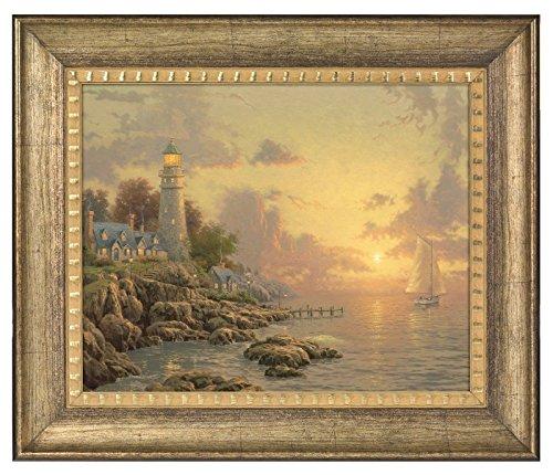 Thomas Kinkade The Sea of Tranquility 16 x 20 Brushstroke Vignette (Burnished Gold)