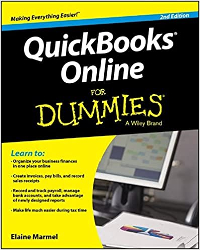 Amazon com: QuickBooks Online For Dummies (9781119127338