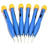 New Arrival 8PCS Adjust Frequency Screwdriver Set Anti-static Plastic Ceramic 90MM