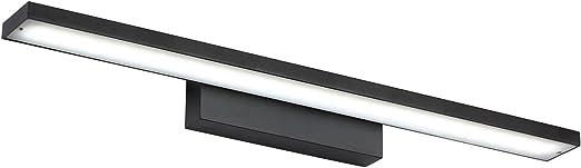 6W LED Schwarz Bilderlampe Spiegellampe Wandleuchte Modern Kaltweiß Badezimmer