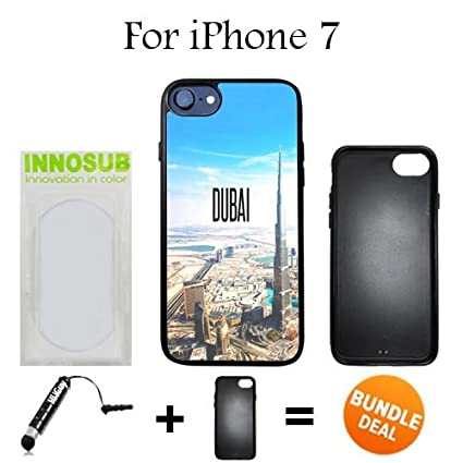 Amazon com: Innosub Custom iPhone 7 Case (City Dubai ) Edge-to-Edge