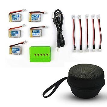 5pcs 3.7V 150mAh Batería Lipo con 5 en 1 BaterÍa Cargador para ...