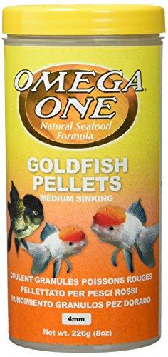 51mzvyrxyjL - Omega One Goldfish Pellets - Medium Sinking 8oz.
