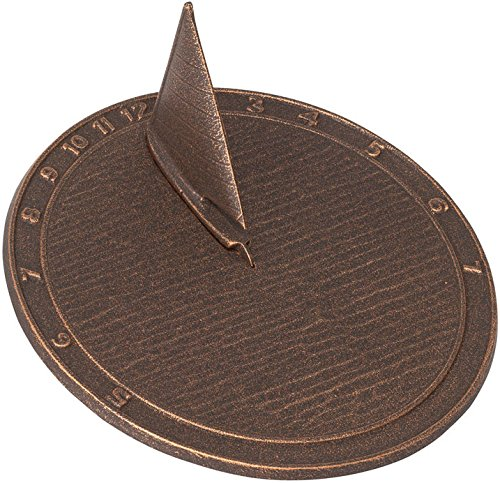 Whitehall Products Day Sailor Sundial, Oil Rub Bronze