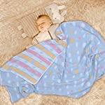 Oversized-Muslin-Toddler-Blanket-Hypoallergenic-Organic-Cotton-Bed-Blanket-Lightweight-Breathable-Muslin-Baby-Quilt-Soft-Blanket-for-Crib-and-Stroller-47x-59Multicolored-by-Moms-Love
