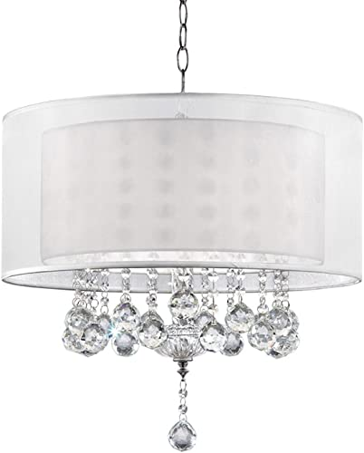 Ore International K-5149H 19 Moiselle Crystal Ceiling Lamp