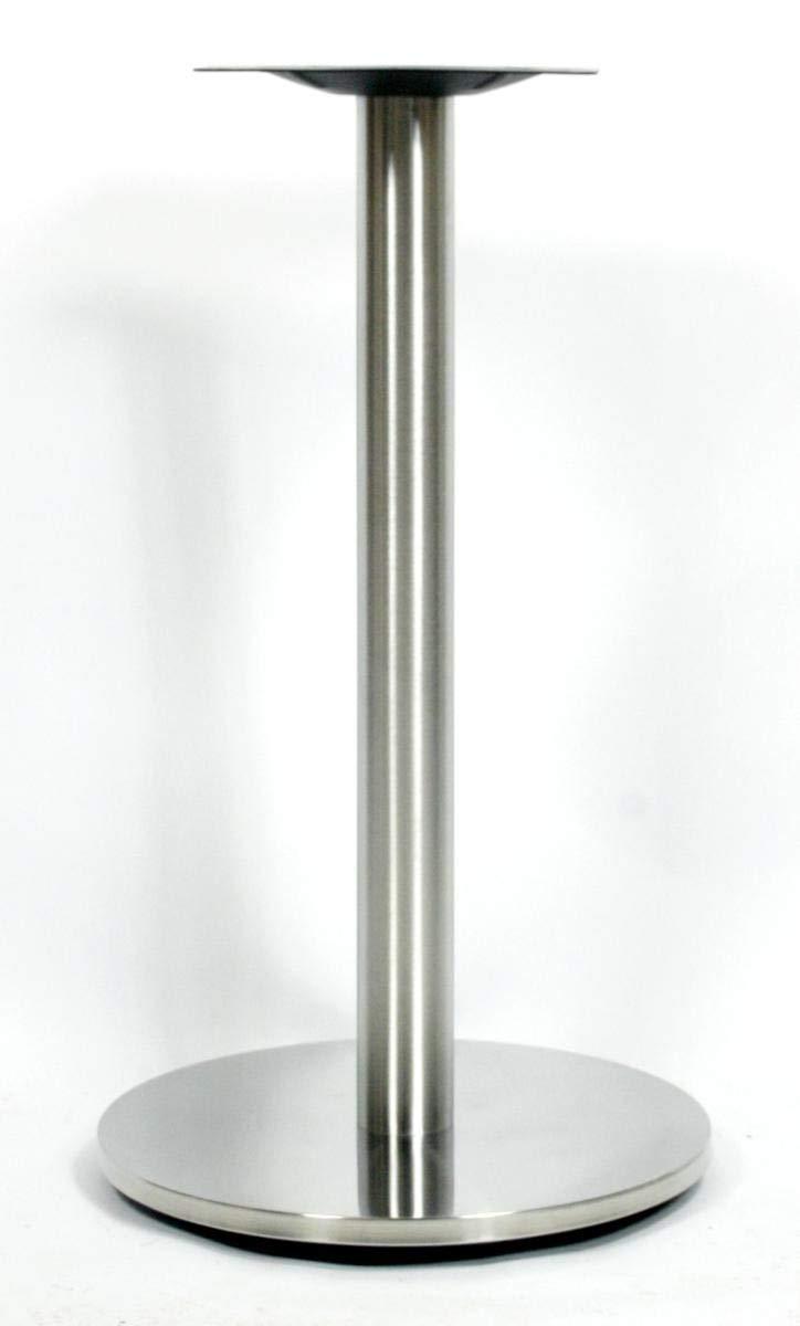 Base per tavolo, 72 cm, telaio per tavolo con base in poliresina, struttura in acciaio inossidabile, piede rotondoSaarbrücken HeuSa GmbH