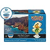 Kauai Coffee Single-serve Pods, Na Pali Coast Dark Roast – 100% Premium Arabica Coffee from Hawaii's Largest Coffee Grower, Keurig-Compatible Cups - 12 Count