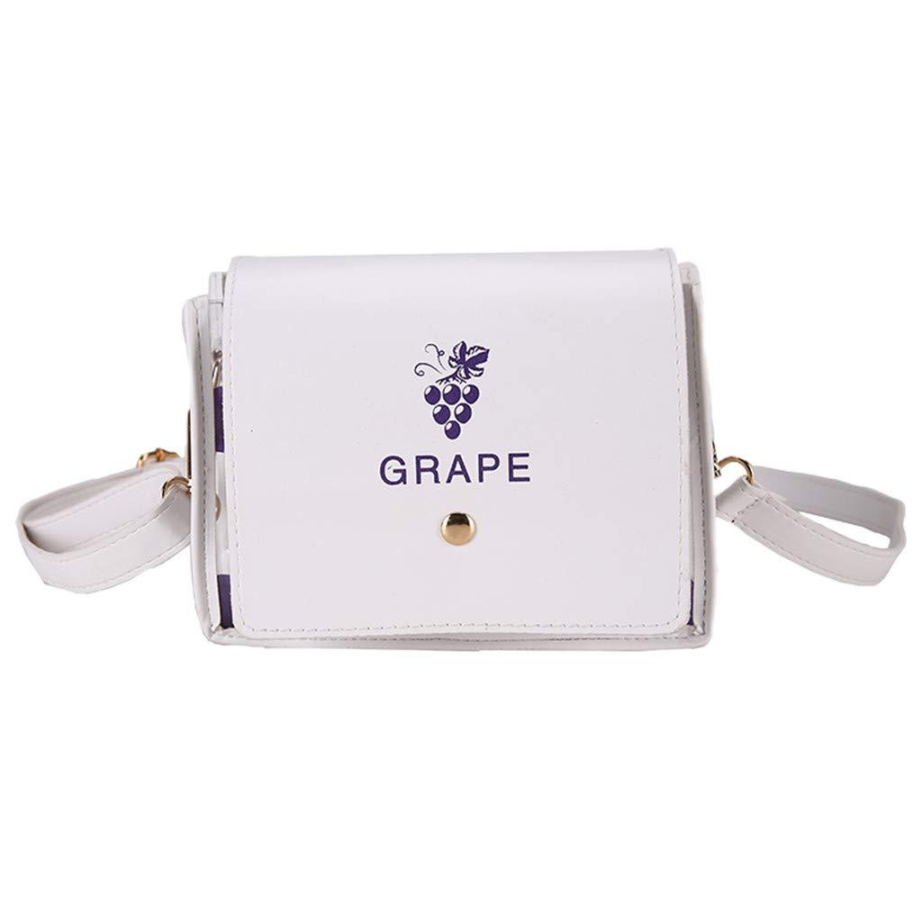 Womens Fashion Wave Point Translucent Shoulder Bag Fruit Grain Crossbody BagHandbags/&Clutches/&Evening Bags