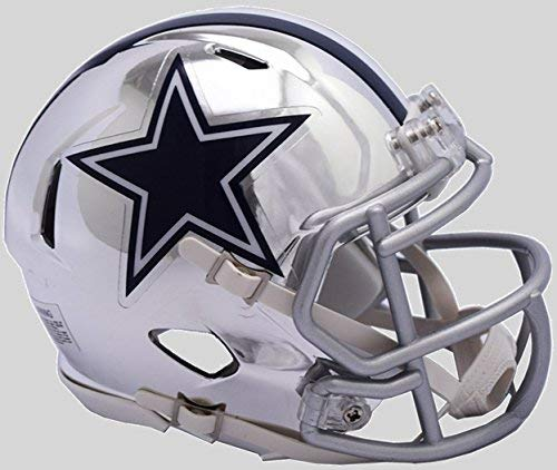 Riddell Chrome Alternate NFL Speed Replica Full Size Helmet Dallas Cowboys [並行輸入品]   B07JZS95LR