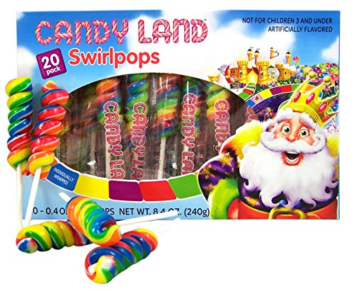 Candy Land Party (Candy Land 20 Pack Lollipop)