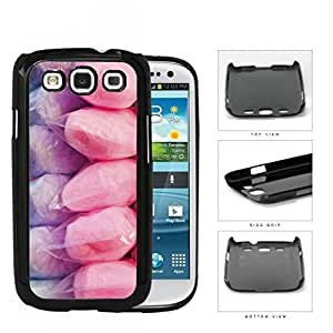 Purple And Pink Cotton Candy Hard Plastic Snap On Cell Phone Case Samsung Galaxy S3 SIII I9300
