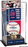Sports Memorabilia Corey Kluber Cleveland Indians 2017 AL Cy Young Sublimated Display Case with Image - Baseball Free Standing Display Cases