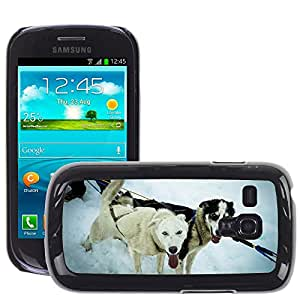 Super Stella Slim PC Hard Case Cover Skin Armor Shell Protection // M00104392 Sled Dogs Alaska Dog Sled Sled Dog // Samsung Galaxy S3 MINI i8190