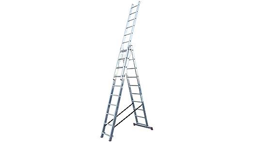 LALG408 Escalera para Desniveles, 3 X 10 Peldaños: Amazon.es: Industria, empresas y ciencia