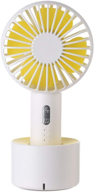 3 Model for Home Office Outdoor Travel Color : White, Size : One Size Zxcvlina Portable Personal USB Fan Handheld USB Fan Portable Outdoor Personal Rechargeable Cooling Desktop Fan