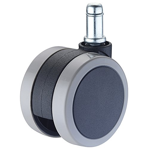 oft Caster Wheels Low Profile Replacement Safe for Hardwood Floors with Universal Silent 7/16