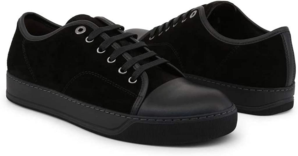 Lanvin Homme Sneakers Bleu Brown