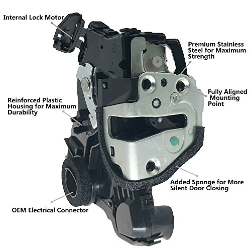 Toyota Corolla Left Door - 69040-06180 Door Lock Actuator Motor Assembly with Integrated Latch Front Left Drive Side for Toyota 4Runner Camry Corolla Sequoia Sienna Matrix Lexus 69040-02120 69040-33221 69040-AA050