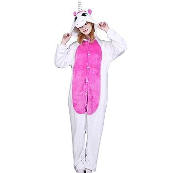 M&A Pijams Unicornio Animales Franela Disfraz Cosplay Para ...