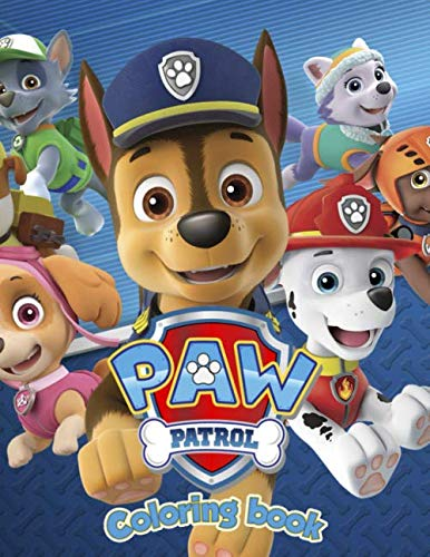 Paw Patrol Coloring Book: Aged 3 -