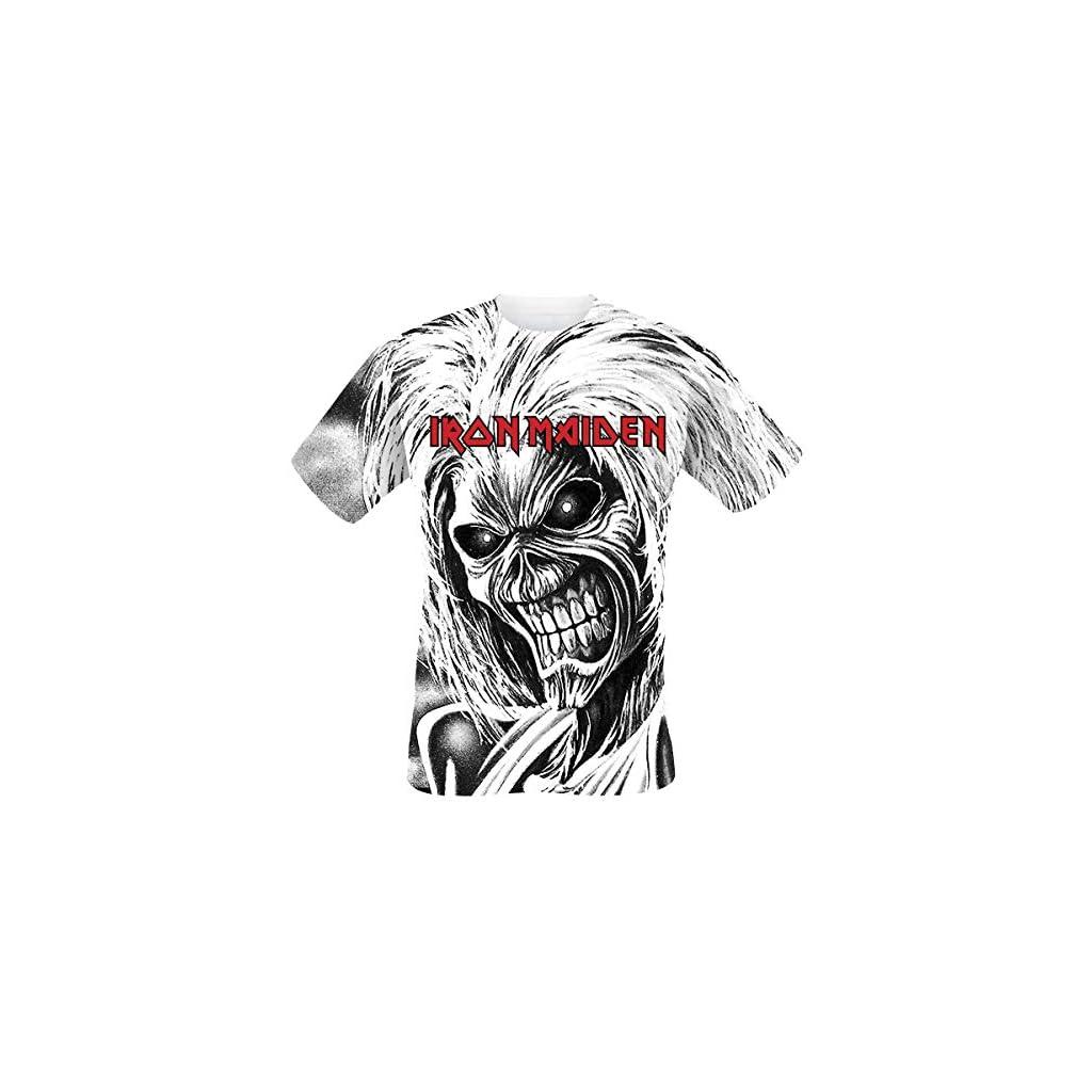 Iron Maiden Killers Camiseta Blanco