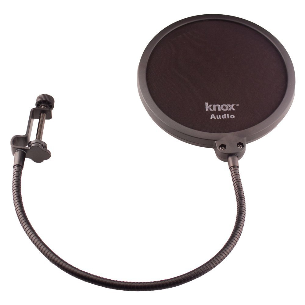 Blue Microphones Yeti Teal USB Microphone with Studio Headphones and Knox Pop Filter by Blue Microphones (Image #8)