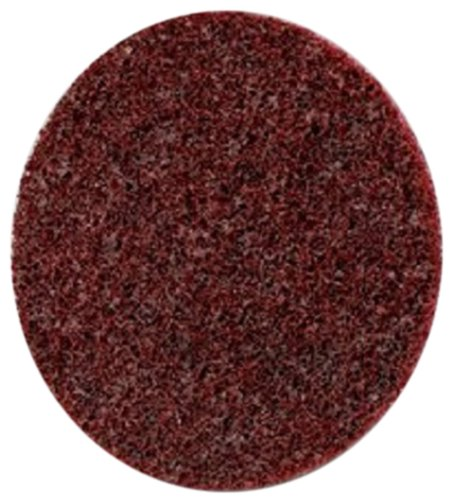 Scotch-Brite(TM) Roloc(TM) Surface Conditioning Disc TR 07480, Speed-Lok TR Quick-Change Attachment, Aluminum Oxide, 2'' Diameter, Coarse Grit, Brown  (Pack of 100) by 3M
