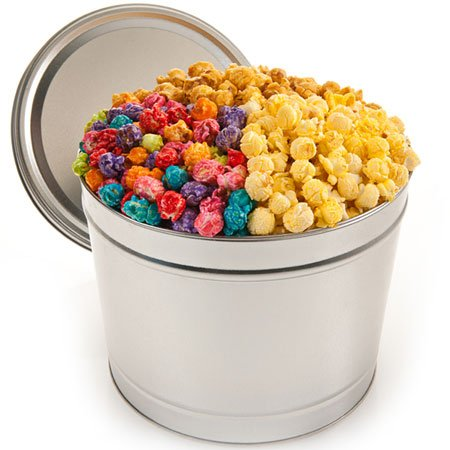 Festive Favorites Popcorn Tin - 1 Gallon (Colorful Popcorn compare prices)