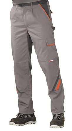 2420 Planam Bundhose Visline zink/orange/schiefer