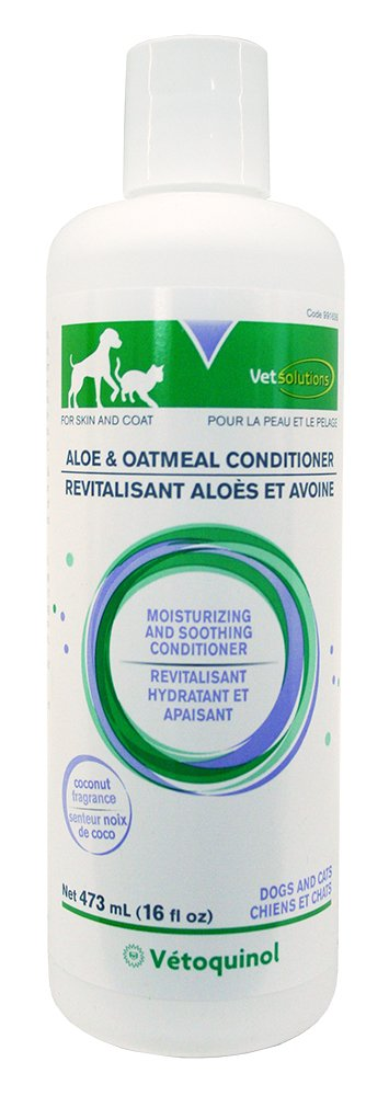 Vet Solutions Aloe and Oatmeal Conditioner, 16-Ounce