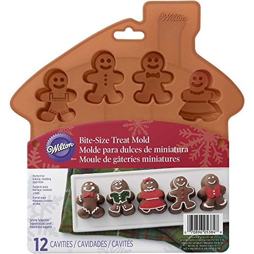 Wilton Gingerbread Boy Silicone Mold (Gingerbread Mold)