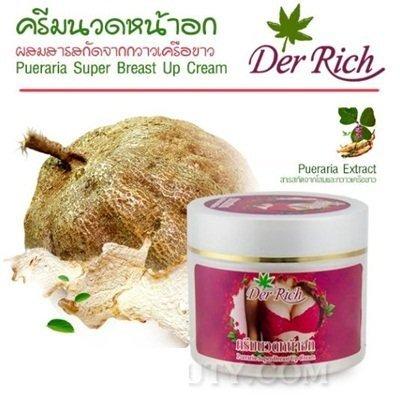 - Super Breast Bust Up Herbal Cream – Pueraria Mirifica &Ginseng Extract FREE !! Handkerchief Thai silk