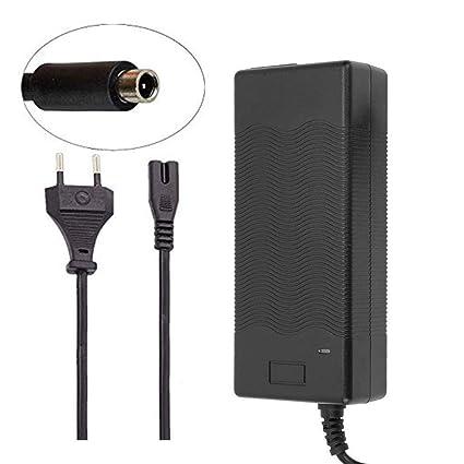 SmallRun- Cargador de batería Patinete Compatible Xiaomi M365 eléctrico 42V-2000mA reemplazo para Scooter Xiaomi Bicicleta eléctrico