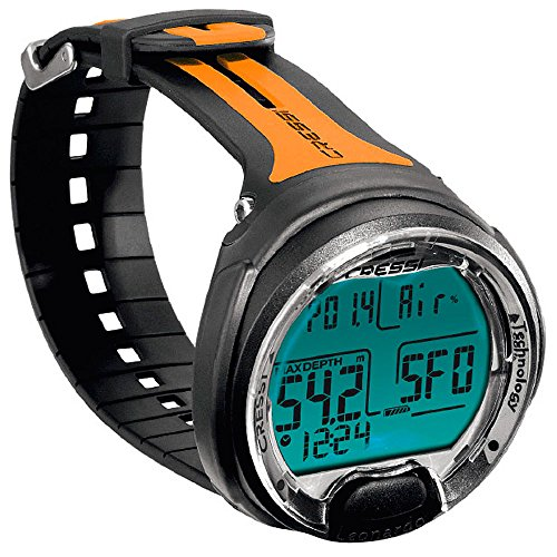 Cressi Leonardo Dive Computer Watch - Black / Orange