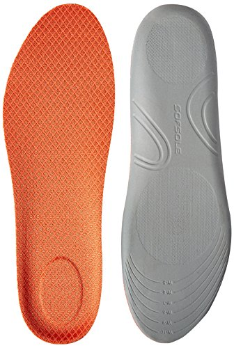 Sof Sole Canvas Comfort Low Profile Shoe Insoles, Women's Size 5-10