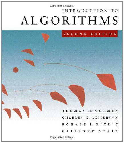 Pdf Computers Introduction to Algorithms, Second Edition