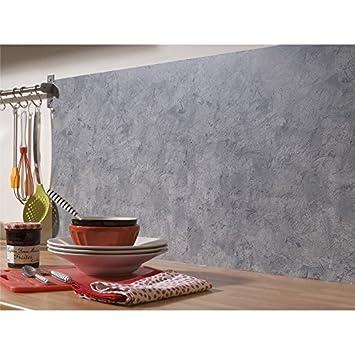 Rouleau De Revêtement Adhésif Décoratif Beton Gris 0 45x2 M Amazon