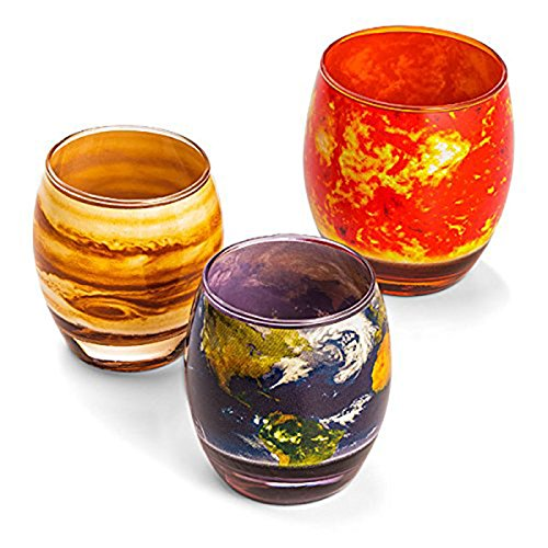 Planetary Glass Set by ThinkGeek by ThinkGeek